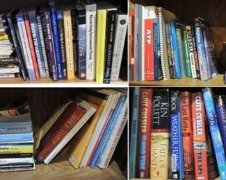 Books: Novels, airline and pilot training