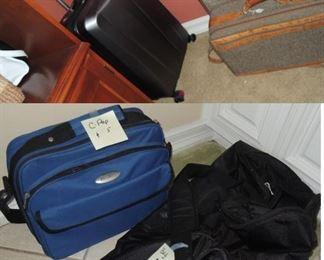 Hartman luggage, 4 wheel luggage and tote bags