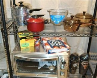 Kitchen appliances and cookware