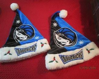 Mavericks Holiday Hats