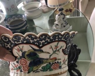 Vintage French pottery circa 1940