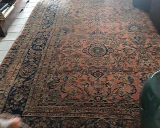 Antique Persian Sarouk rug 10 x 13