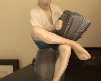 man playing accordion by B&G
