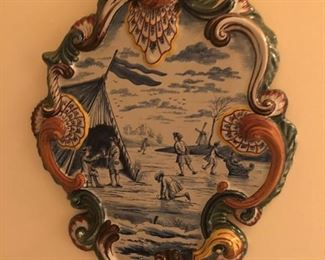 Delft hand painted tile