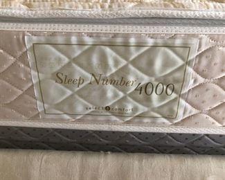 Sleep number bed 4000