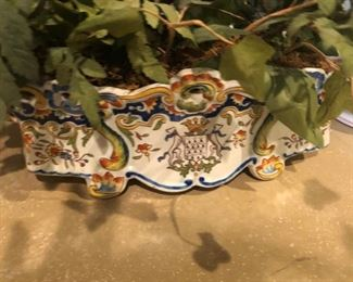 HAND PAINTED FRENCH PIECE