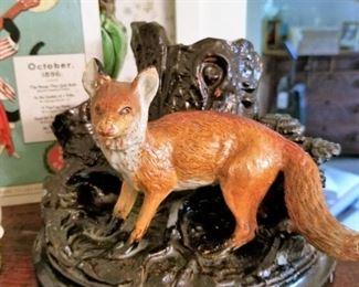 Fox humidor (without the jar)