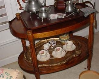 Nice antique oval side table