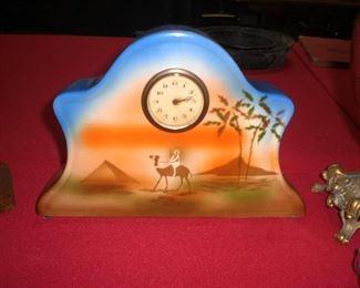 Empire china co. Egyptian revival clock