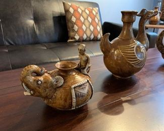 Hand Made Indian Pottery