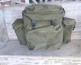 Military camera equipment backpack
