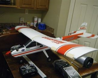 large rc airplane