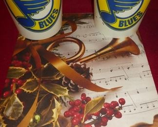 St. Louis Blues cups , sheet music