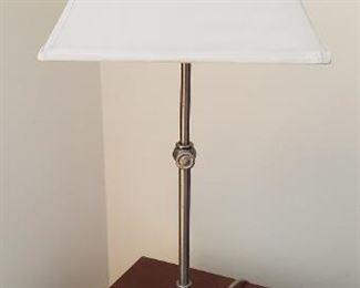 Brushed Nickel Lamp