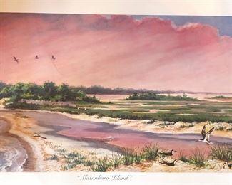 Masonboro Island Art Print ~ NC National Treasures Series