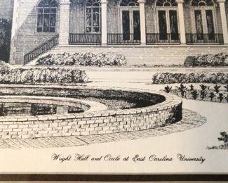 Wright Hall and Circle at East Carolina University