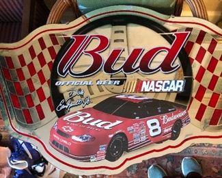 Bud Beer NASCAR mirror