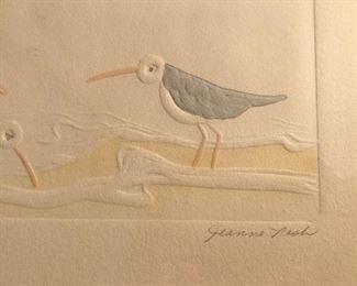 Signed art Jeanne Nash