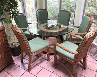 Braxton Culler Patio Table and chairs