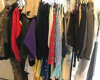 clothes Hunting jacket and overalls