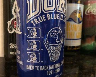 """Duke Champian Coke Can """"91-92"""