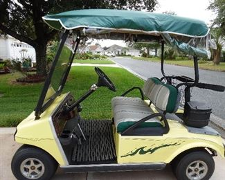 Great cart for extra guests
