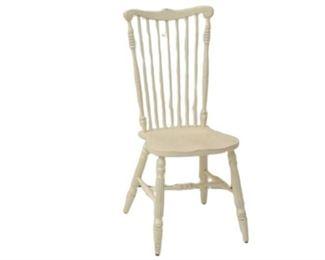 5. White Highback Chair
