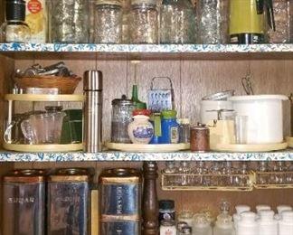 Vintage Bottles & Tins