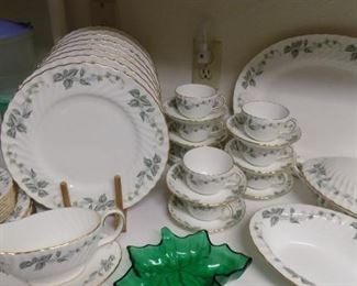 Minton China...service for 8 with serving pieces