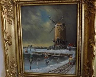 Hendrik Breedveld original art work (1918-1999)