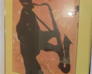 Sedona jazz festival signed art