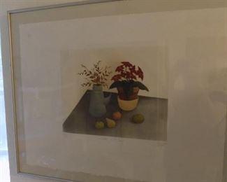 Elisabeth Clerget signed/numbered art