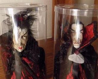 Katherines Collection  Halloween bottle tassels