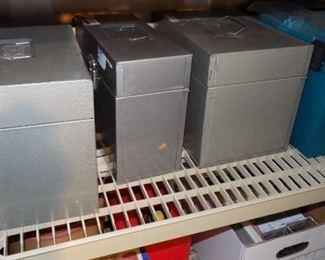 metal file bins
