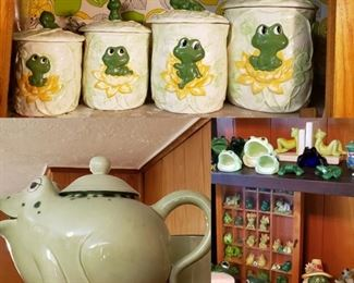 Frog Canisters, frog everything!