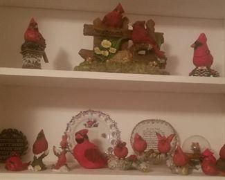 Cardinal bird collection