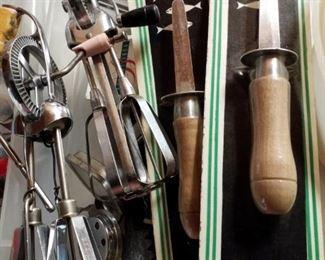 vintage hand held mixers