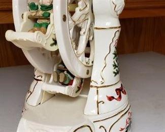 Rotating Ferris Wheel Christmas Music Box
