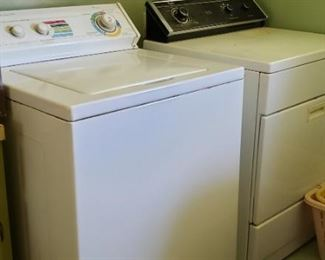 washer and dryer, gas dryer