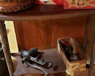 vintage grinders, nutcrackers