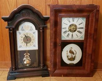 wall clock, mantle clock