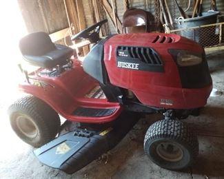 Huskee riding mower