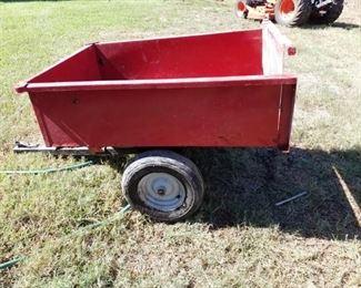 small trailer, piggy back wagon