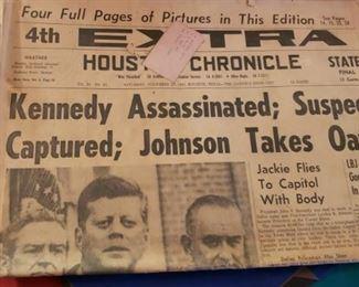 JFK Houston Chronicle