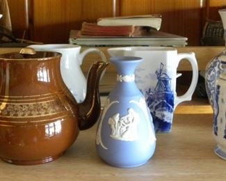 Delft & Wedgwood Pottery
