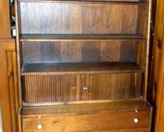 "Mid Century 1959 Drexel ""Declaration"" Desk/Bookcase By Kipp Stewart"