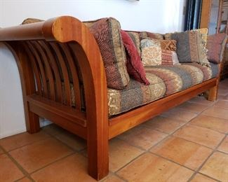 Vintage Mission Arts and Crafts period Sofa.