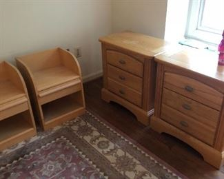Rug and bedroom furniture