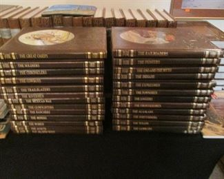 """26 Volume Set, Time Life """"The Old West"""""""