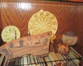 Assorted Weavings & Basketry